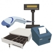 Accessories (receipt printer, barcode scanner, cash drawer, customer display, etc)