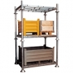 Manurack (rack modulable et gerbable)