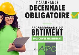 APC- ASSURANCES PRO & CONSTRUCTION (JULIE DEJEAN) - Responsabilité civile décennale