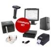 Een volledig kassasysteem met verkoopbeheer (voorraadbeheer, kassa's , software...)