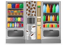 Distributeurs de boissons, snacks et confiseries